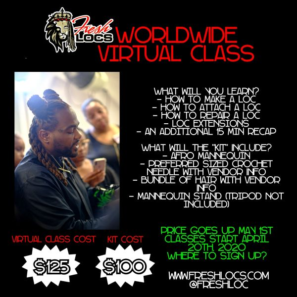 Virtual Training Class with Freshlocs