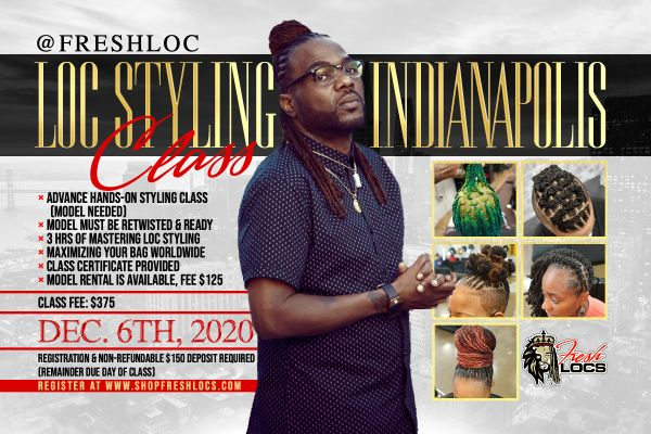 FRESHLOCS STYLING GROUP CLASS - DEPOSIT ONLY