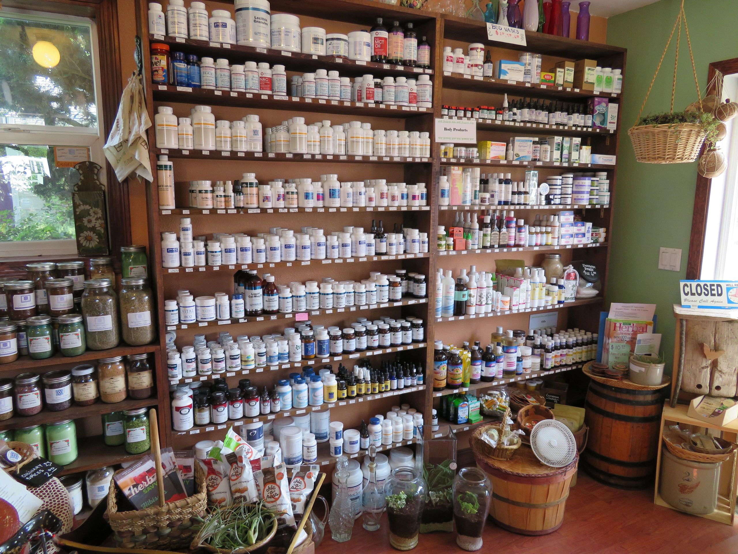 BGhealingarts apothecary battle ground natural goods herbal medicine essential oils pharmacy