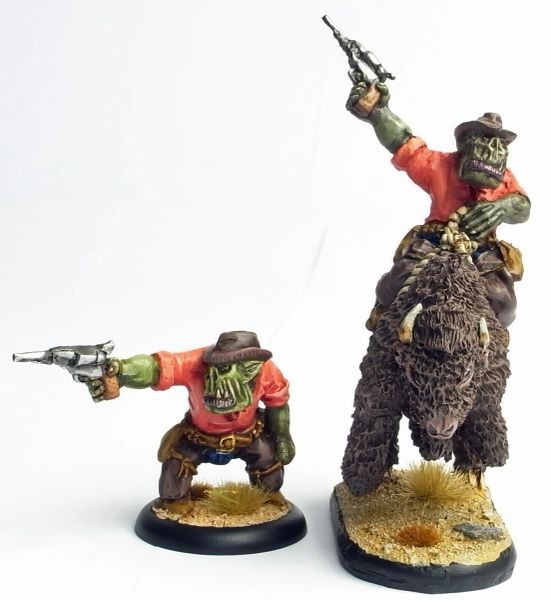 Cowboy Orc 2 - Mad Mike Hangry - Foot & Mounted