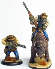 Cowboy Orc 4 - Francis Deadeye Poole - Foot & Mounted
