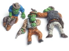 Set of 3 Cowboy Orc Casualties