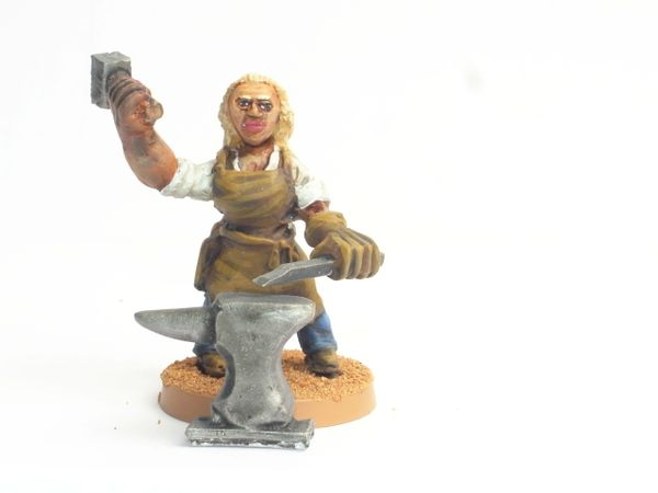 Dwarf Blacksmith - Thora Wackitt