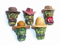 Cowboy Orc Heads (B)