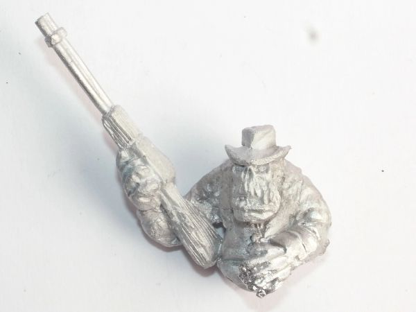 Wild West Cowboy Orc 4 Mounted Body