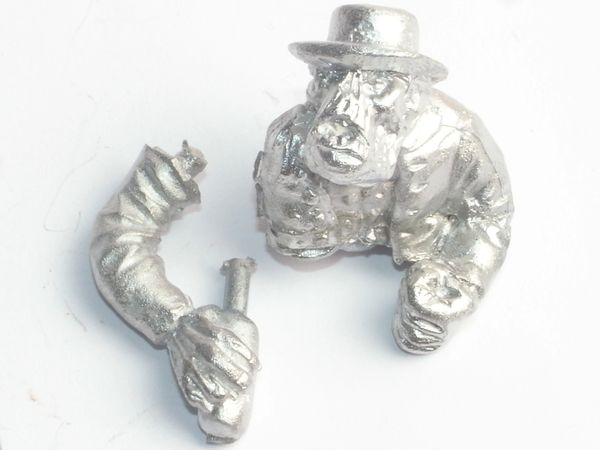 Wild West Cowboy Orc Wagon Driver Body & Arm