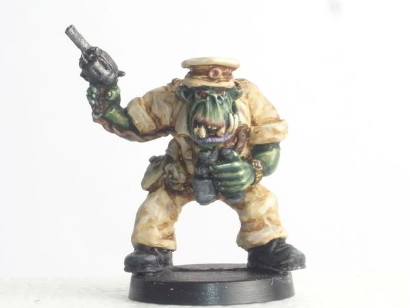 Desert Orc Officer