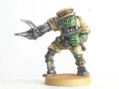 Desert Orc Bionic Officer