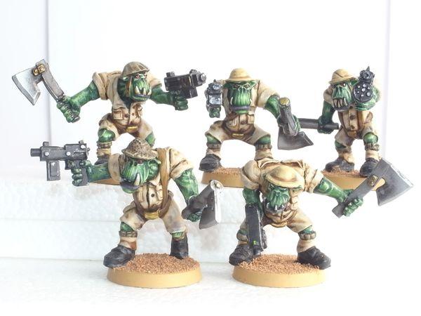Desert Orc Close Combat Section