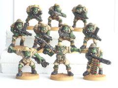 Desert Orc Ranged Squad