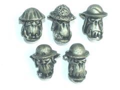 Desert Orc Helmet Heads A