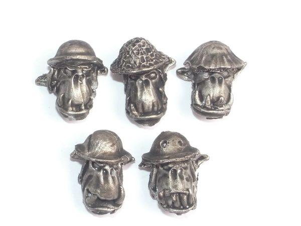 Desert Orc Helmet Heads B