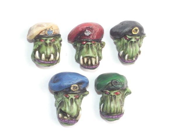 Desert Orc Beret Heads