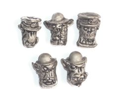 Desert Orc Command Heads
