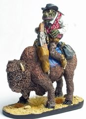 Mounted Cowboy Orc 6 - Steady Quinn