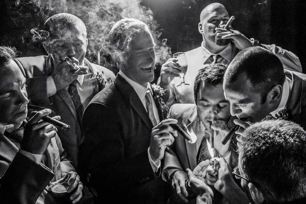 Wedding cigars, Luxury Wedding, Live Cigar Rolling. Cigar Weddings, RC, Revolutionary Cigars.