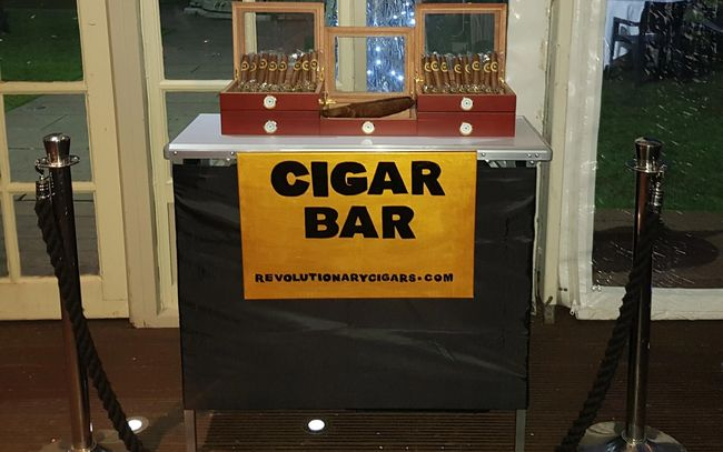 Luxury Wedding Cigar Bar. Wedding entertainment.  Luxury Wedding.