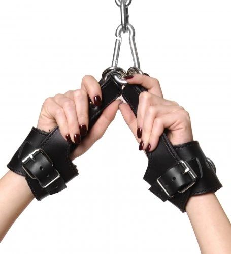 530 Strict Leather Fleece Lined Suspension Cuffs