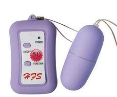 AV095 Purple 50 Speed Wireless Bullet Vibrator