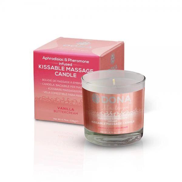 50036 Dona Kissable Massage Candle Vanilla Buttercream