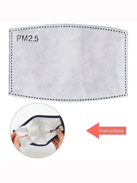 PM2.5 Mask Filter - 5 Pack