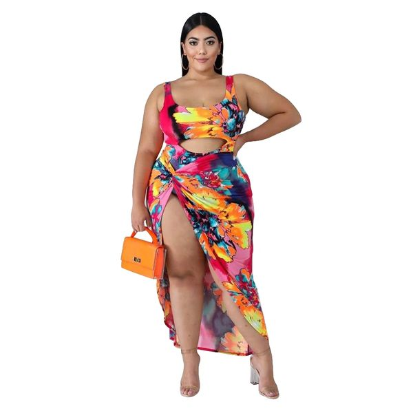 S1053 Multi Color One Piece Cover Up Set