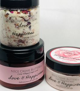 Pick any combination of the popular Love & Happiness collection to make it a gift anyone wold love.