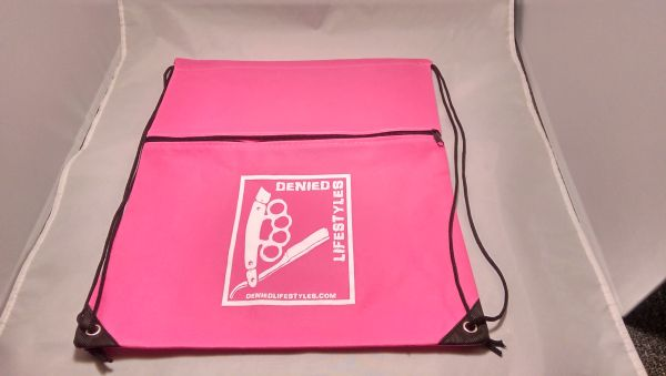 Pink Cinch Bag