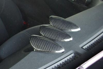 Curious - Z34 Carbon Gauge Pod Covers (set)