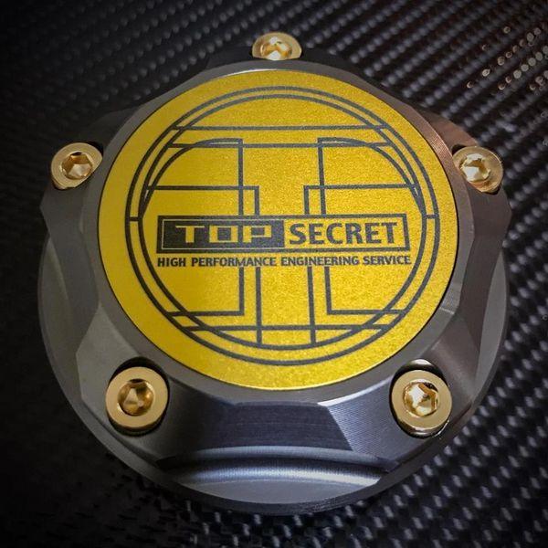 Top Secret + JDM Parts Ninja Oil Cap : Version 2