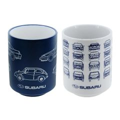 Subaru Japanese ceramic cups