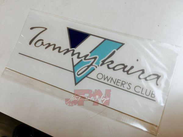"Tommykaira ""Owner's Club"" sticker"