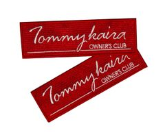 Tommykaira Owner's Club iron-on patch