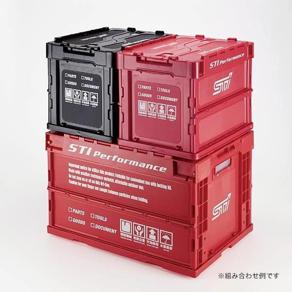 Subaru Collapsible Storage Crates