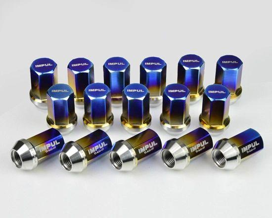 Impul Titantium Lug Nut set