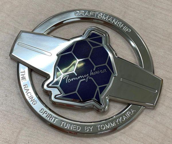 Tommykaira 3-piece Titanium emblem