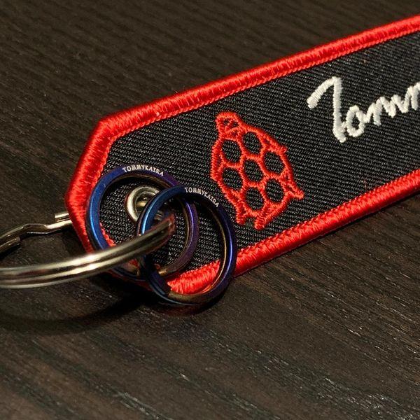 Tommykaira Bomber Tag keychain