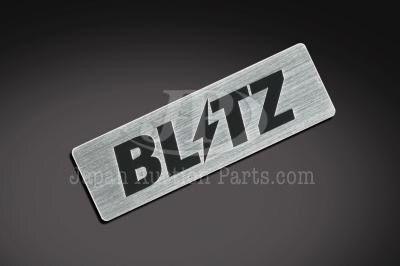 BLITZ Logo Plate