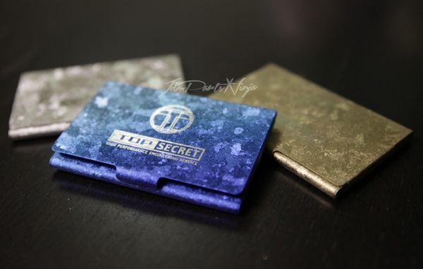 Top Secret Business Card holder