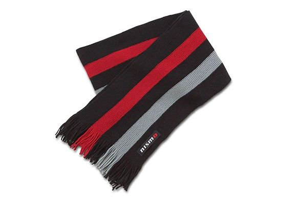 Nismo Motorsports themed winter scarf