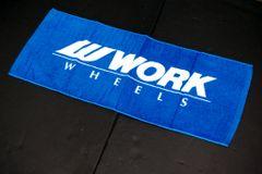 WORK Wheels Towel
