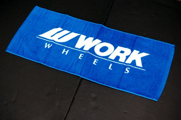 WORK Wheels Towel