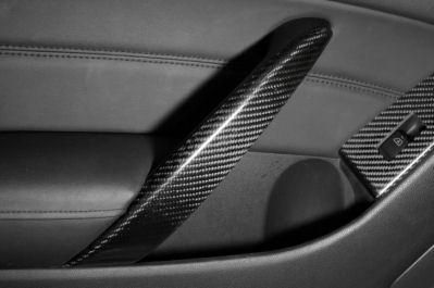 Curious - V36 Coupe Carbon Door Grip Cover (pair)