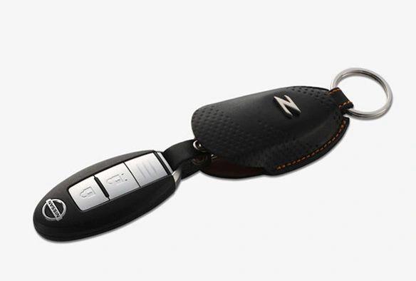 Nismo Z34 suede key FOB case