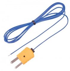 REED TP-01 Beaded Thermocouple Wire Probe, Type K, -40 to 482°F (-40 to 250°C)