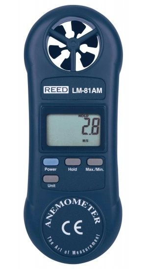 REED LM-81AM Compact Vane Anemometer
