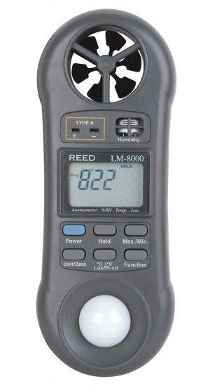REED LM-8000 6-in-1 Multi-Function Environmental Meter