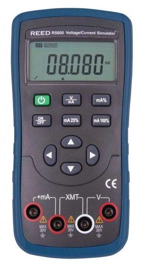 REED R5800 Voltage/Current Simulator, 10V/20mA