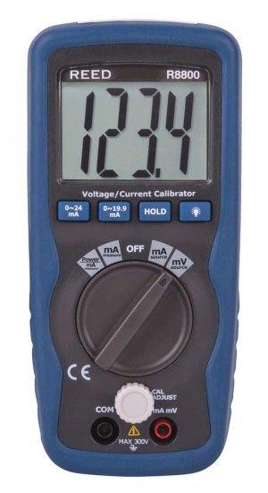 REED R8800 Voltage/Current Calibrator, 199.99mV/19.99mA