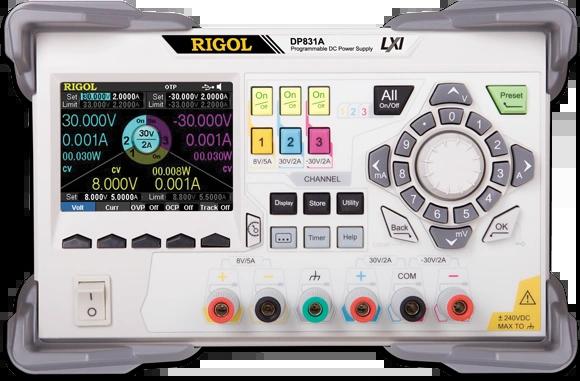 RIGOL DP800 SERIES POWER SUPPLIES